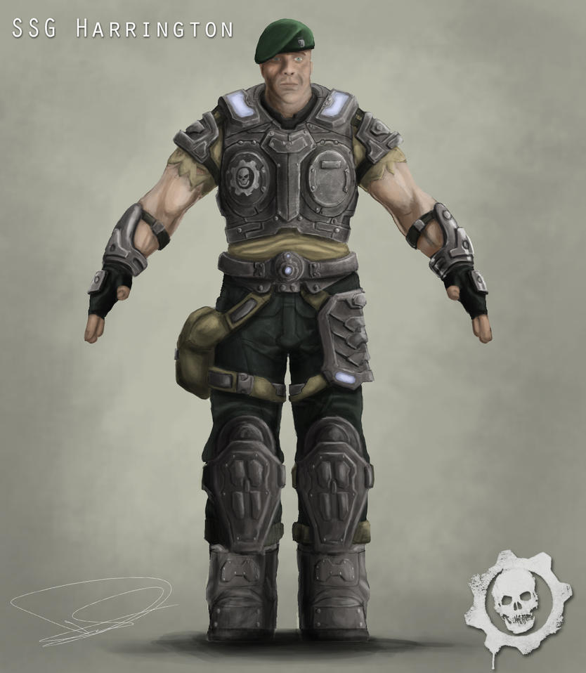 Character Design Gears Of War : Gears of war character design by dd on deviantart