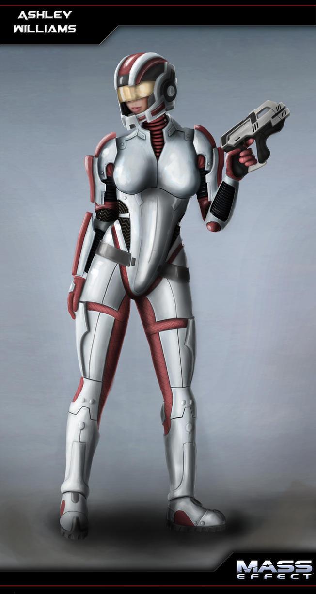 Ashley Williams Mass Effect by dd2005