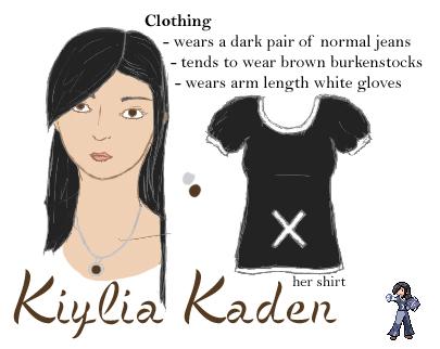 Kiylia Mini-Reference by Curriaan