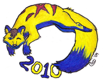 Happy New Year 2010 - Ani by Curriaan