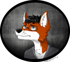 .::Comish for GrottFox 1/3::. by Nonthyl