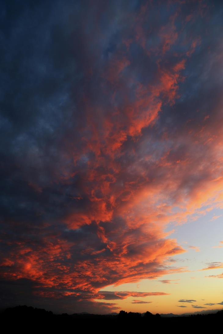 Ciel au Crepuscule - Sunset by Septentrion777