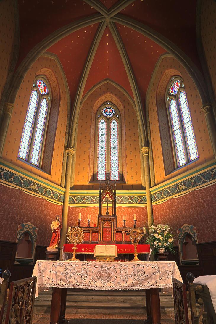 Eglise de Port de Lanne by Septentrion777