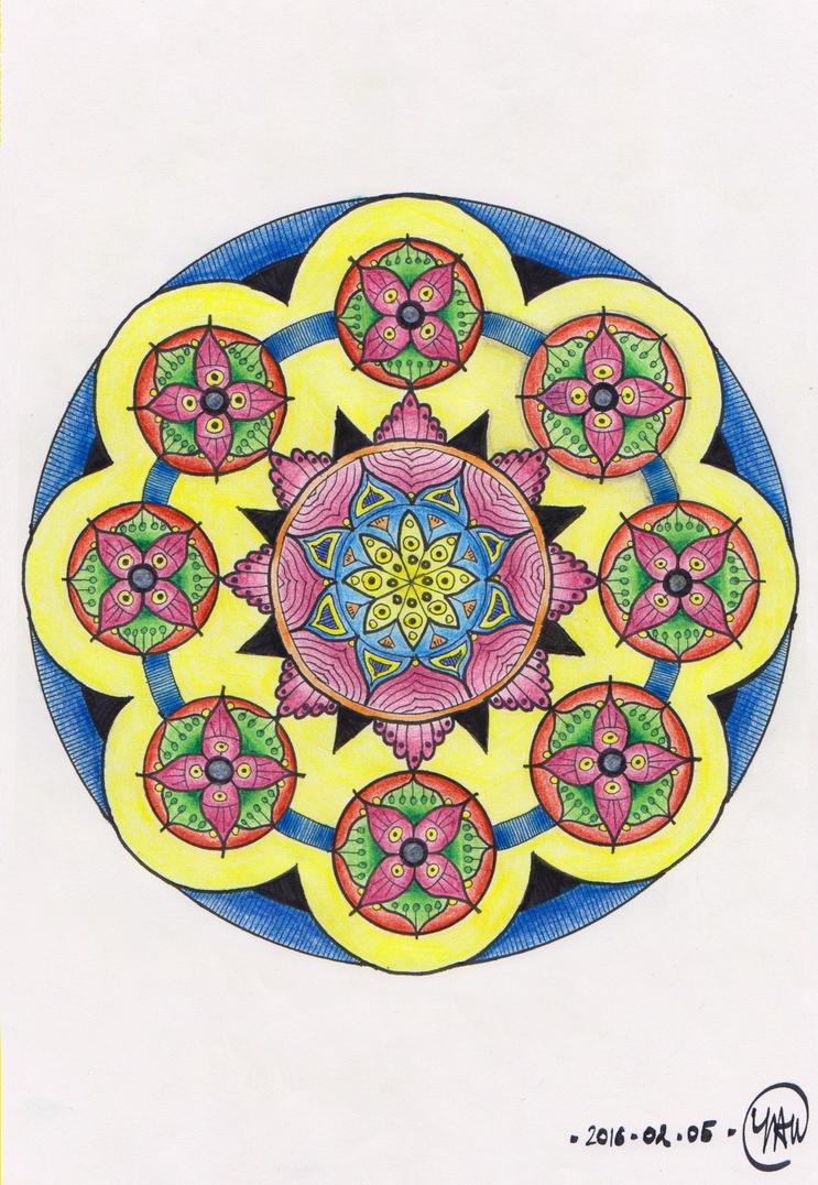 Mandala 2016-02-05 by Septentrion777