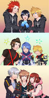 Kingdom Hearts Trios