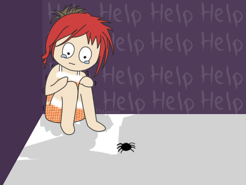 When I see a spider by MrGaarax