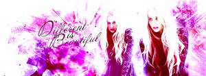 Different is beautiful [facebook timeline cover] by designs3more