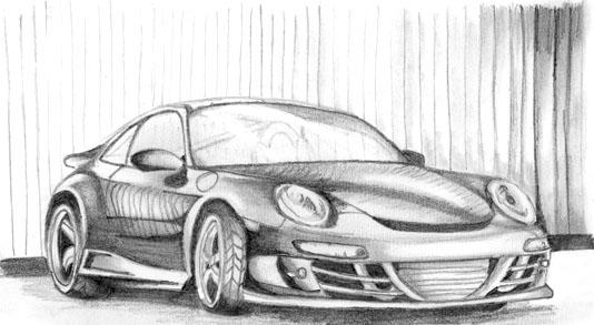 Porsche 911 Carrera 4S by meggie56