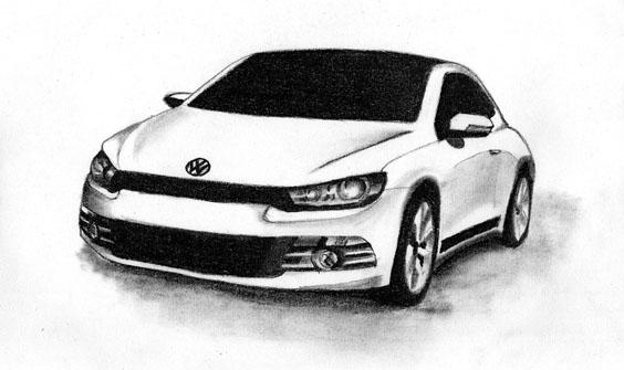 Volkswagen Scirocco by meggie56