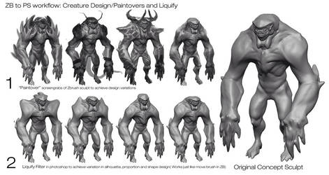 Eric  Chiang Creature Demo PT 2