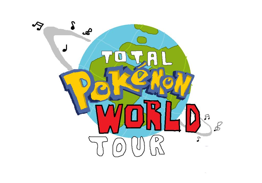 Total Pokemon World Tour Logo by xebla