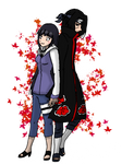 Hinata and Itachi