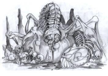 Alien Syndrome by Glorien