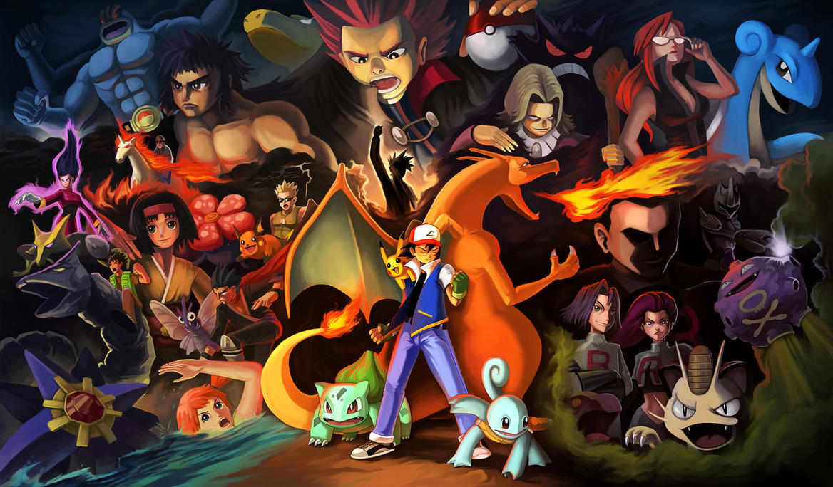 Pokemon Fanart by jasonwang7
