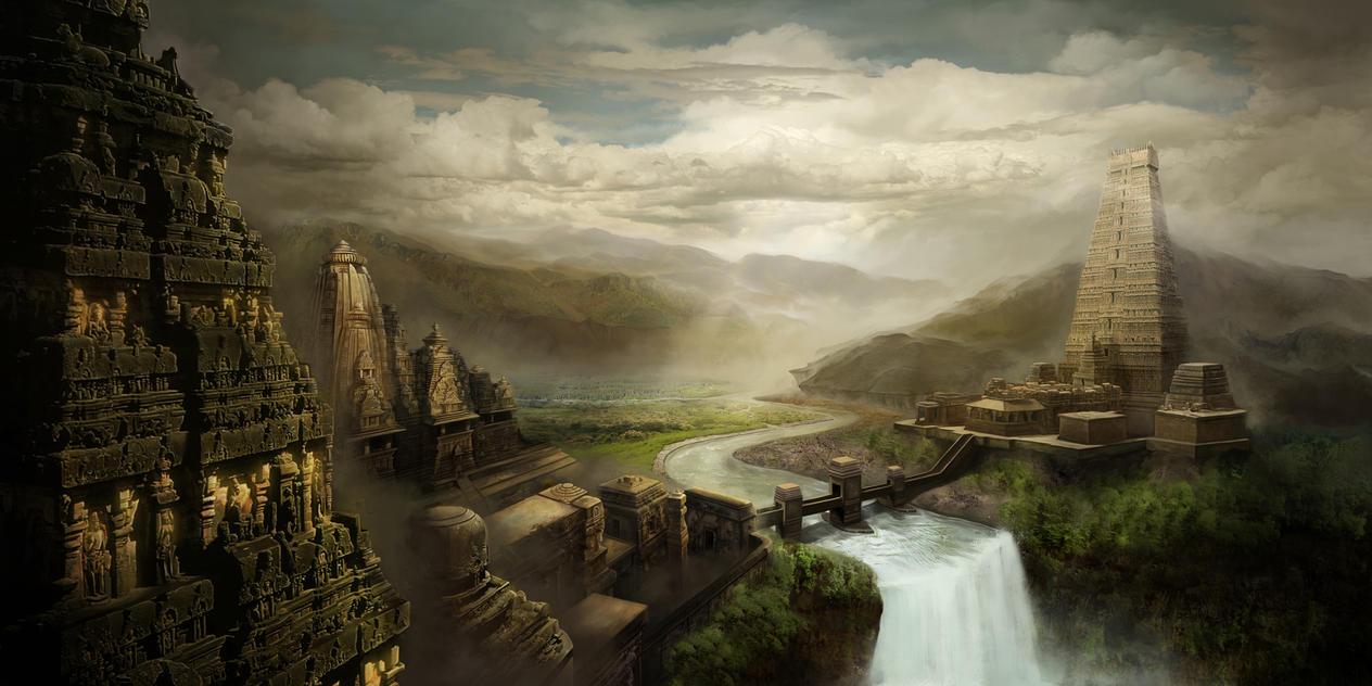 Indraprastha, the Temple City by jasonwang7