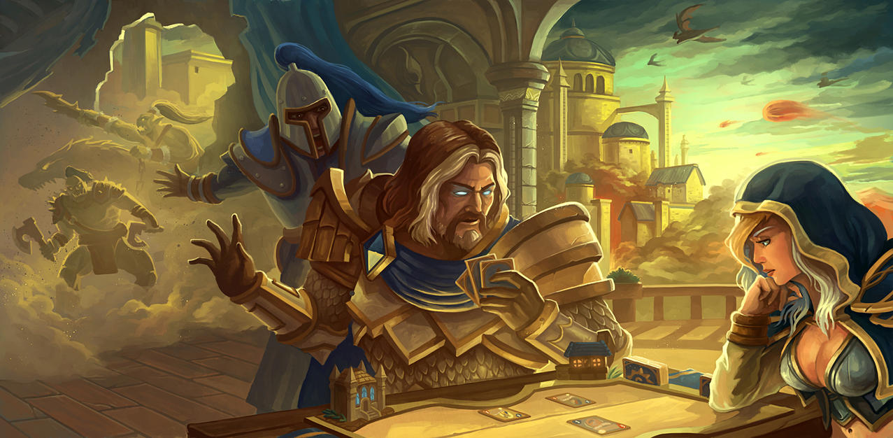 The Fall of Lordaeron by jasonwang7