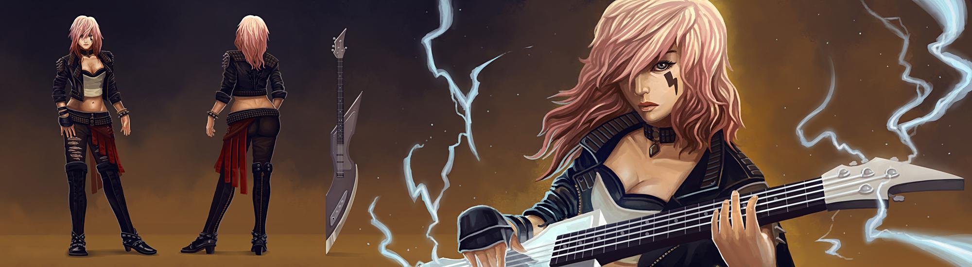 FFXIII LR - Rockstar by jasonwang7