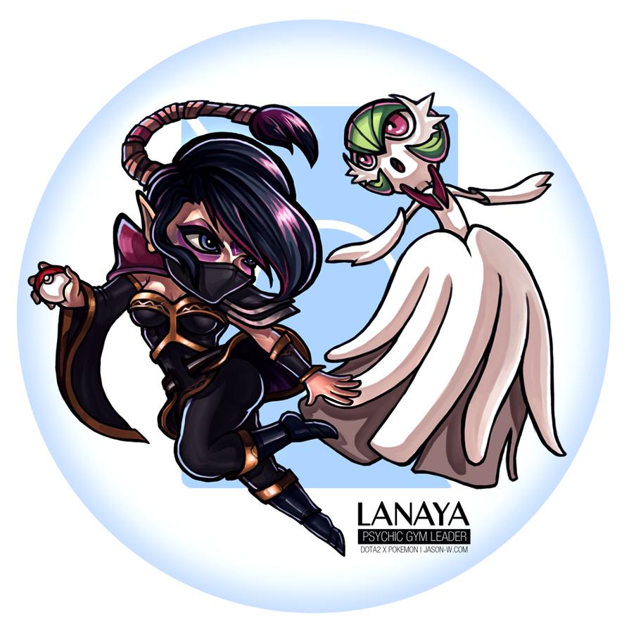 Lanaya the Psychic Gym Leader by jasonwang7