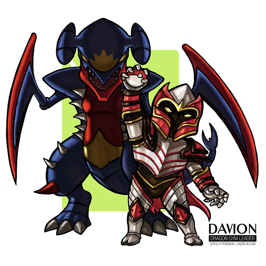 Davion the Dragon Gym Leader by jasonwang7