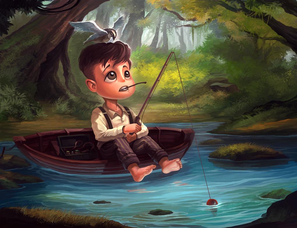 Gone Fishin' by jasonwang7