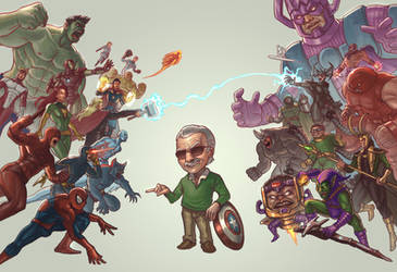 Stan Lee Tribute by jasonwang7