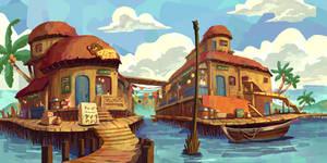 RPG Water Village