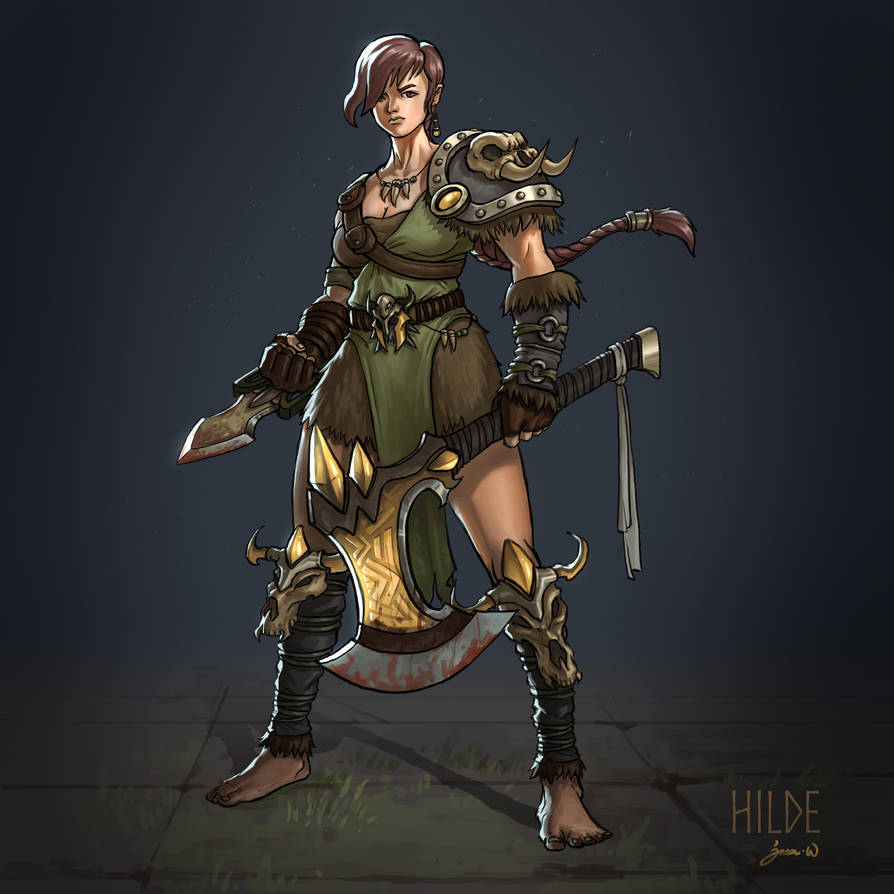 Hilde by jasonwang7