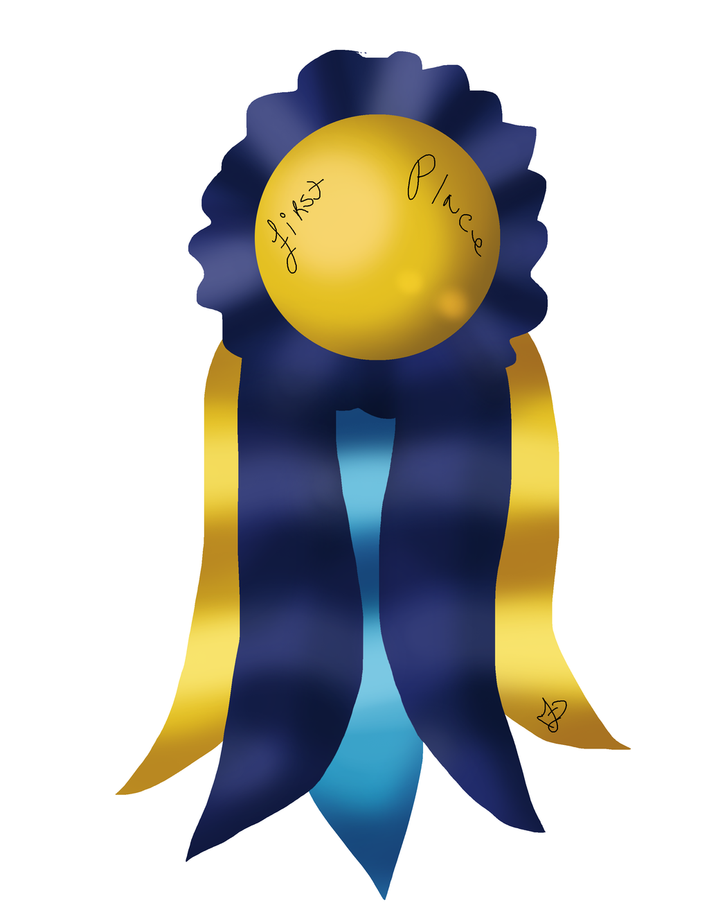 First Place Ribbon by ValiantShadow on deviantART