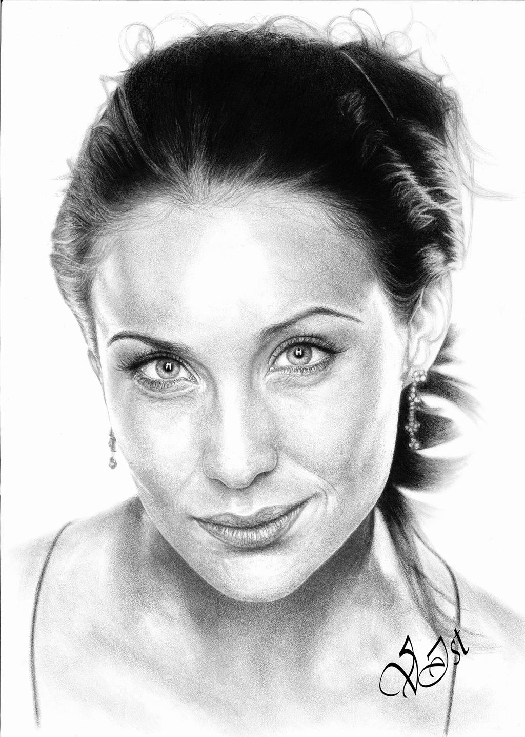 Claire Antonia Forlani by V-Ist