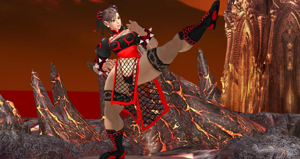 Chun Li Inferno 2 by cablex452