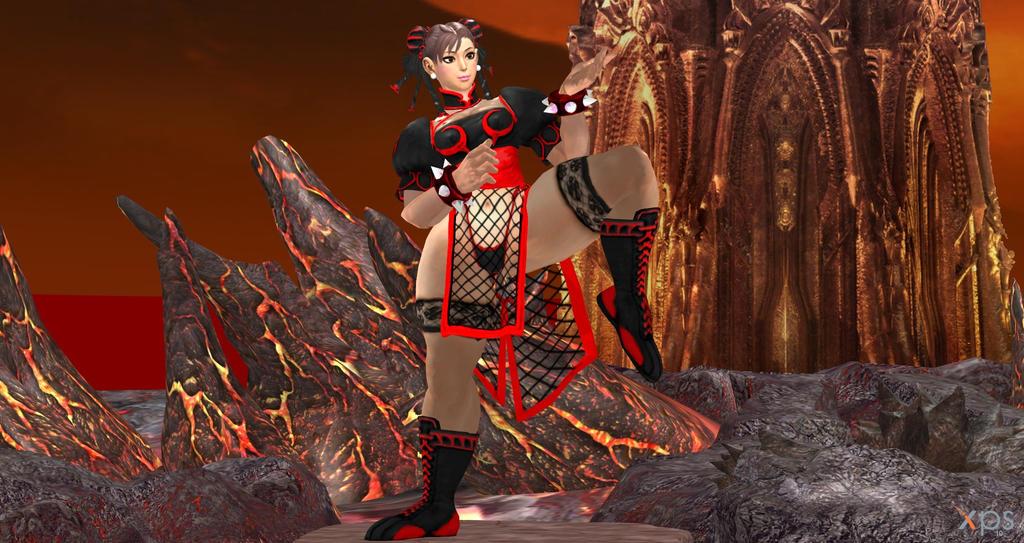 Chun Li Inferno 3 by cablex452