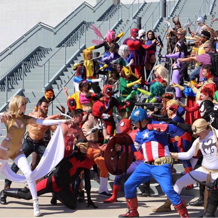 Avengers VS XMEN Wondercon 2015 by cablex452