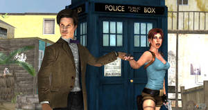 The Doctor and The Tomb Raider