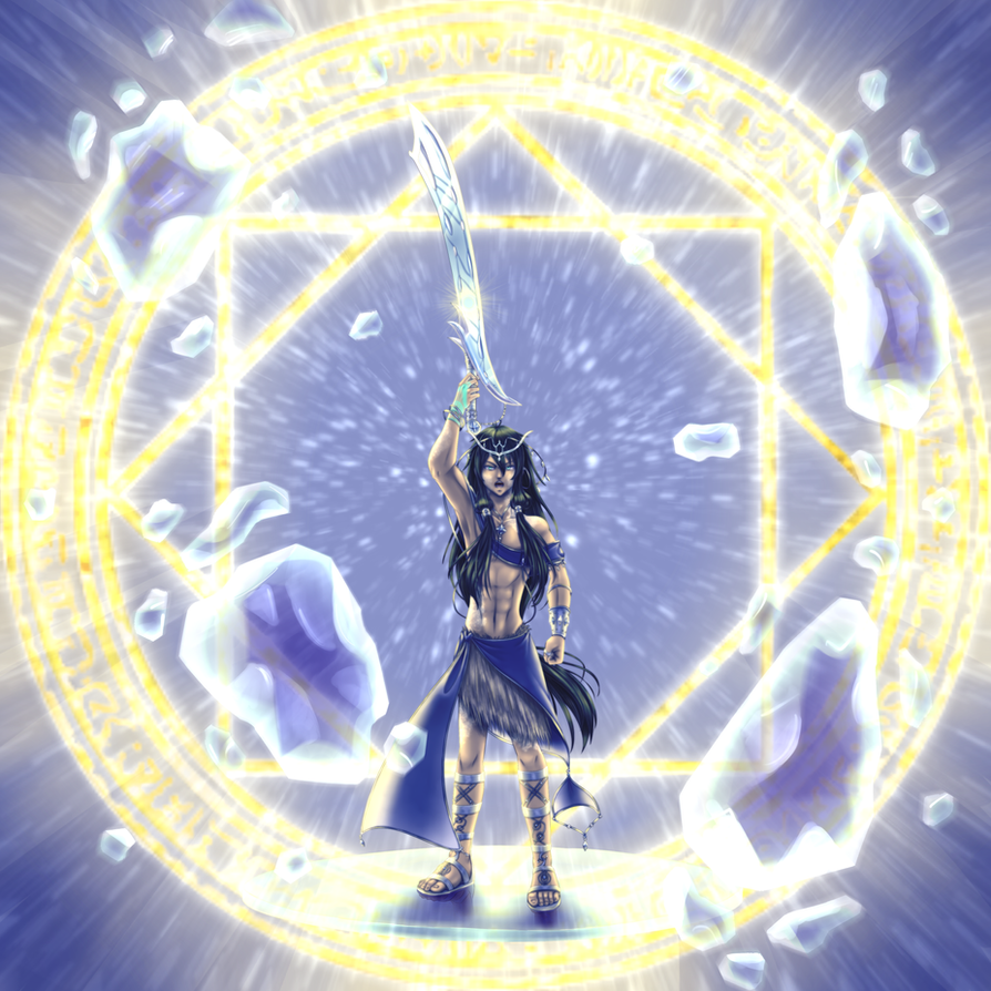 :1001: Extreme Magic: Inhiyar Aldamar Lame'a by WaterSkies