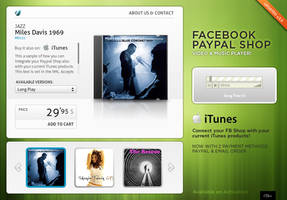 Facebook Paypal MUSIC SHOP by pezflash