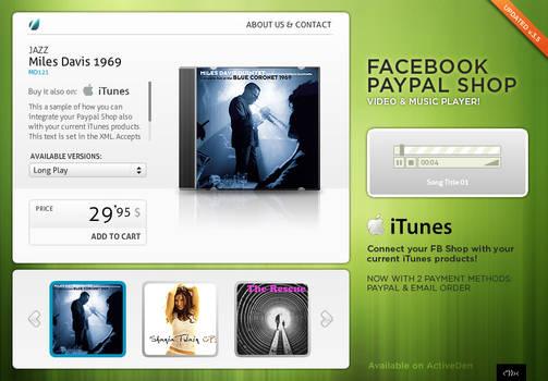 Facebook Paypal MUSIC SHOP