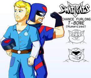 SWAT Kats Humanized: Chance Furlong by coDDRy