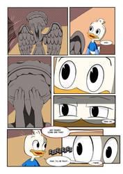 Dewey meets a Weeping Angel