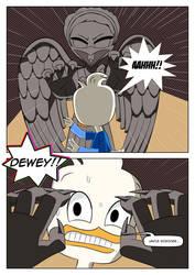 The Weeping Angel attacks Dewey