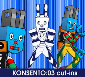 KONSENTO:03 custom cut-ins