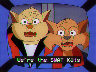 We're the SWAT Kats... by coDDRy