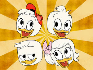 Duck Kids opening screen (DuckTales 2017 style)