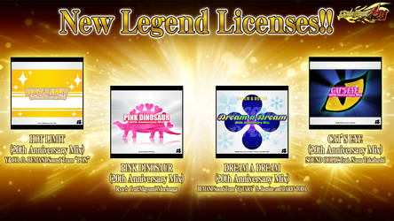 DDR A20 custom 20th Anniversary Songs announcement by coDDRy