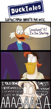 DuckTales as Community - Launchpad meets his idol