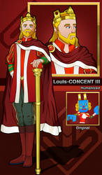 Louis-CONCENT III (humanized) - Remake