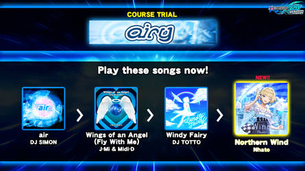 DDR fanmade course: airy