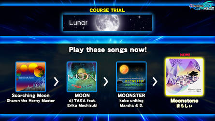 DDR fanmade course: Lunar