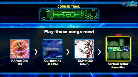 DDR fanmade course: HI-TECH