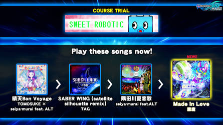 DDR fanmade course: SWEET ROBOTIC