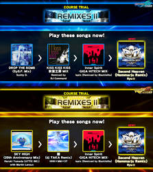 DDR fanmade course: REMIXES II